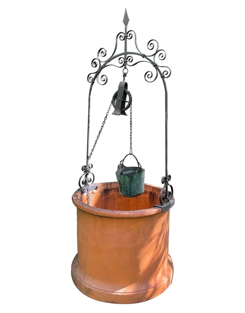 Pozzo Terracotta Liscio